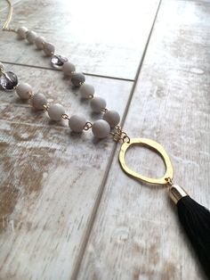 Popular Tassel Necklace Boho Necklace by BuddingCreations1 on Etsy