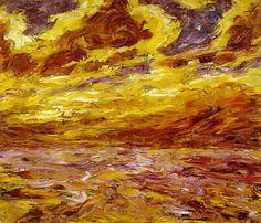 German expressionism  Emil Nolde autumnsea