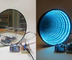 ผลการค้นหารูปภาพสำหรับ led illusion mirror