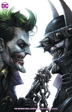 OF 6 DANIEL VARIANT DC COMICS BATMAN WHO LAUGHES JOKER DARK NIGHTS METAL #6
