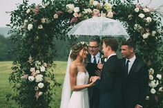 This Couple's Rainy Wedding Day at Castleton Farms is Too Pretty for Words The Image Is Found-35