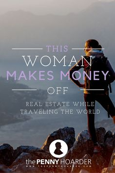 Traveler and real estate maven Paula Pant shares her adventures on her blog, Afford Anything, where she notes she's up to seven rental properties. - The Penny Hoarder - http://www.thepennyhoarder.com/investment-property-travel/