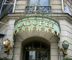 La Duree, Paris France : best pastries in the world! but it burned down this year :(