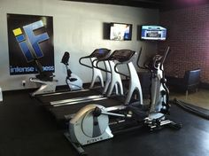 Cardio at Intense Fitness. Get your workout on!