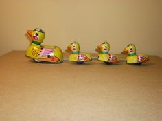 Tin Duck Family Wind Up Collectors Edition by thecollectiblechest, $5.99