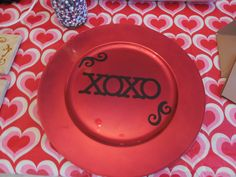 Personalized chargers for any occasion or holiday.  $18.00