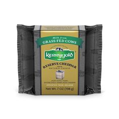 Kerrygold's Reserve Cheddar Cheese is made with the milk of Irish grass-fed cows and is aged for an additional year which results in an intense flavor which is still rich and smooth. Chocolate Butter Cookie Recipe, Butter Cookies Recipe, Oatmeal Breakfast Cookies, Breakfast Cookie Recipe, Dubliner Cheese, Cheddar Cheese, Kerrygold Butter, Unsalted Butter, Irish Coffee Cake