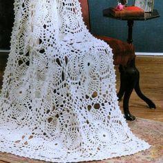 Crochet Pattern Blanket, Throw, Bed Spread PDF Pattern