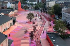 inner city landscape park in Copenhagen - Topotek 1 + BIG Architects + Superflex