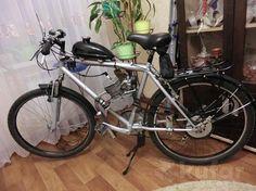 $250 16000 руб Велосипед с мотором