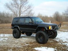 If the black Jeep ever needs a new home... I'd take it and make it a true adventurer like this...