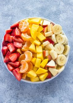 20 Healthy Snacks That Won't Leave You Hungry Obstsalat mit Honig-Joghurt-Sauce Healthy Meal Prep, Healthy Drinks, Healthy Snacks, Healthy Eating, Healthy Recipes, Healthy Fruits, Healthy Yogurt, Think Food, I Love Food