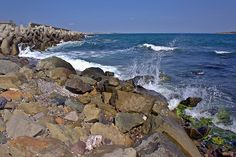 Sea Shore in the Vicinity of Sozopol V(At the Seaside Resort in Bulgaria, Europe)