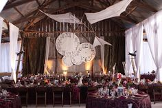 The receptions was very steam punk. I learned how to solder copper pipes and then made the copy of one of Leonardo De Vinci's wings to hang from the rafters.