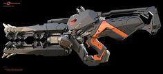 LawBreakers Gun : Model by Lonewolf - Design by James Hawkins: