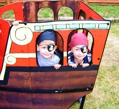 DIY Pirate Ship - tu