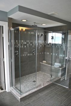 19 - Bathroom Inspiration | Michael David Design Center | #interiordesign #bathroom #tiledesign #luxuryhome #masterbath #shower #dreamhome #custom