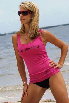 """Reel Sassy """"Reel Girls Fish"""" Tank"""