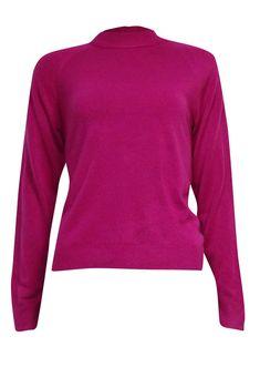 Karen Scott Women's Semi Zipped Mock Turtleneck Sweater