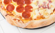Thick and Chewy Pizza Crust