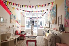 Cailles de Luxe, a quirky bespoke clothing and accessories boutique located on Rue de Charonne, Bastille, Paris