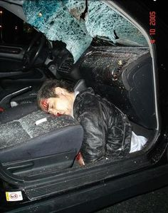 Many deaths among teen car accidents are cause by not wearing a seat belt. For example my friend Wyatt just lost his life in a fatal car accident by not wearing his. Accident Injury, Dead Man, Trauma, Creepy, Death, Darth Vader, Crime Scenes, Bad Drivers, Hu Ge