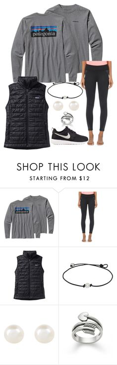 """when u see a Patagonia puff vest brand new at Costco for only $50 but they don't have your size."" by isabella813 ❤ liked on Polyvore featuring moda, Patagonia, Sweaty Betty, Accessorize y NIKE"