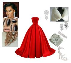 """""""Her Majesty, the Queen"""" by awande-duma on Polyvore featuring Tiffany & Co., Cartier, Givenchy and Giuseppe Zanotti"""