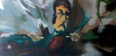 Feri  Oil on canvas by David Nemeth