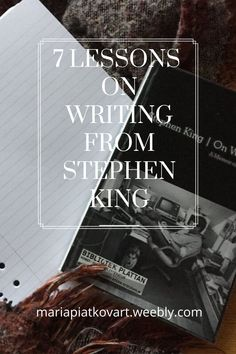 What I have learned from the book On Writing by Stephen King. #onwriting #stephenking Theatre Reviews, Memoirs, Self Improvement, Book Review, The Book, Blogging, Encouragement, Entertainment, King
