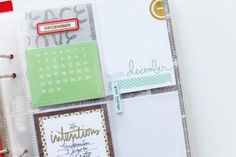 December Daily™ 2013 | Share Your Foundation Pages at Ali Edwards