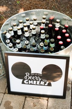 Willie Classic Mickey Mouse Birthday Party Drinks from a Steamboat Willie Classic Mickey Mouse Birthday Party on Kara's Party Ideas Mickey 1st Birthdays, Mickey Mouse Bday, Mickey Mouse First Birthday, Theme Mickey, Mickey Mouse Clubhouse Birthday Party, Mickey Y Minnie, Mickey Party, Mickey Mouse Wedding, Mickey Mouse Parties