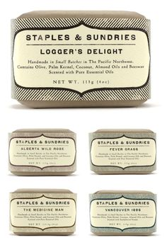 pretty soap labels