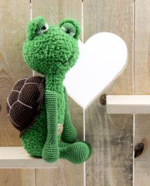 Schildpad Sep #haken #haakpatroon #gehaakt #amigurumi #knuffel #gehaakt #crochet #häkeln #cutedutch