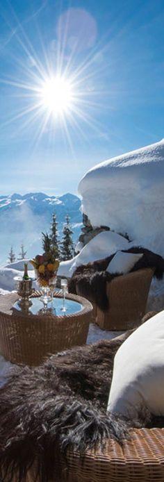 Les Trois Couronnes Ski Chalet...Switzerland