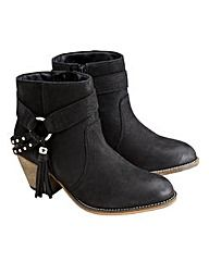 Joe Browns Stud Strap Ankle Boots E Fit