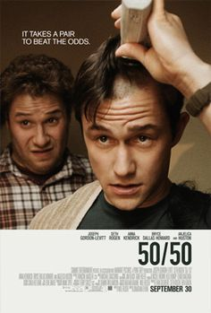 50/50 - an inspirational cancer comedy #LIVESTRONG