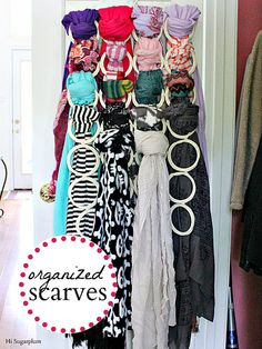 IKEA Komplement $8.00 to organize scarves! IMG_1462 by hi sugarplum!, via Flickr
