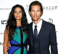 Camila Alves and her hubby Matthew McConaughey welcome a baby girl!
