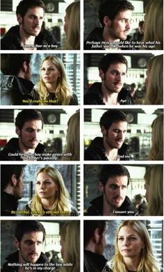 """#HOOK #CaptainSwan #OUAT   S3E16: """"It's Not Easy Being Green""""   Colin O'Donoghue as Captain Hook   Once Upon A Time"""