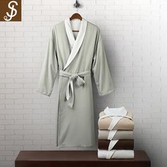 S&J best price and free sample 100% cotton wholesale breathable waffle plush bathrobe for plush hotel