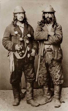 "Kalderash Gypsies. the year 1865. Image from the book of e. Ficovskogo ""Gypsies in Poland""."