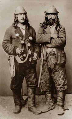 "Gypsies/Moors Kalderash Gypsies. the year 1865. Image from the book of e. Ficovskogo ""Gypsies in Poland""."