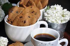 Fursecuri cu cafea si ciocolata neagra Mai, Tiramisu, Deserts, Ice Cream, Cookies, Tableware, Food, No Churn Ice Cream, Crack Crackers