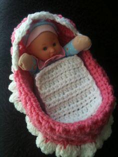 Cradle doll purse by misshaileyshamper on Etsy, $15.00