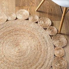 Lark Store / Daisy Flower Weave Rug