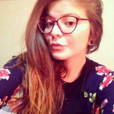719a8d7542 Pink Calvin Klein glasses! Nerd way