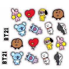 K-Pop Bangtan Boys BTS Stickers for Laptop, Phone, Notebooks – KawaiiMart – Kpop 2020 Trend Bts Sticker, Exo Stickers, Tumbler Stickers, Phone Stickers, Kawaii Stickers, Journal Stickers, Printable Planner Stickers, Cute Stickers, Notebook Stickers