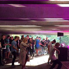 #Odense rocker under broen! #KARRUSELFEST #kentonslashdemon #albanigade #mitodense #thisisodense www.thisisodense.dk/15221/karruselfest