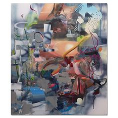 """Join us this Saturday February 25 for the opening of Michael Mancari: """"Motherboard"""" reception from 4 to 7 p.m. This is Mancari's first solo exhibition in Los Angeles. The paintings in """"Motherboard"""" explore themes related to birth transfiguration and memory and juxtapose both abstract and representational painting language. . Image: """"Searching for Anna's"""" 2017 oil and enamel on canvas 59.5"""" x 70"""" .  http://cb1.co/8u . #CB1Gallery #MichaelMancari #motherboard #abstraction #AbstractPainting…"""